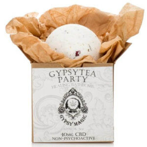 Gypsy Tea Party CBD Bath Bomb Product Photo
