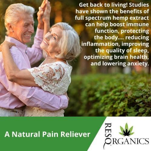Get Back to Living with CBD Oil that helps ease pain!