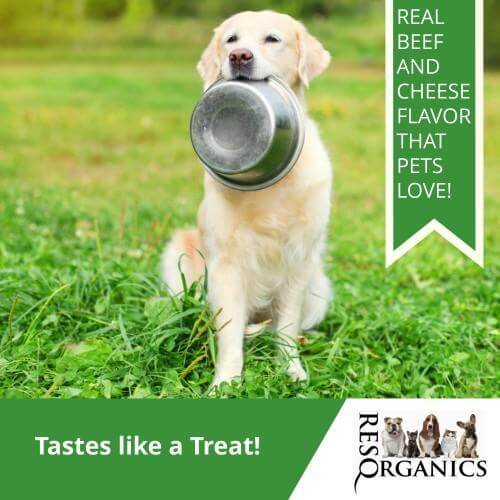 Real Beef and Cheese Flavor - Tastes like a CBD dog treats!
